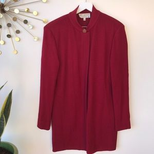 St. John Collection by Marie Gray Red Suit size 12